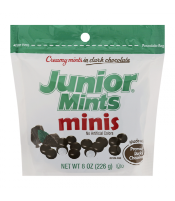 Junior Mints Stand Up Bag - 8oz (227g) Sweets and Candy Junior