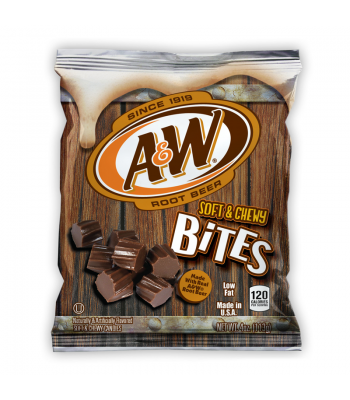 Clearance Special - A&W Root Beer Chewy Bites 4oz ** Clearance Zone