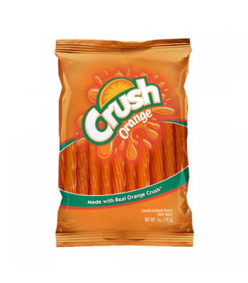 "Kenny's Orange Crush 5"" Juicy Twists 5oz (142g) Soft Candy Kenny's"