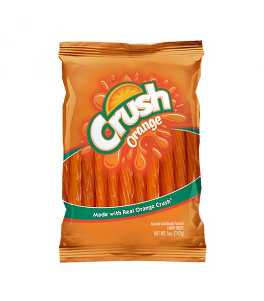 """Kenny's Orange Crush 5"""" Juicy Twists 5oz (142g) Soft Candy Kenny's"""