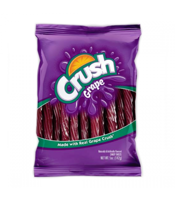 "Kenny's Grape Crush 5"" Juicy Twists 5oz (142g) Soft Candy Kenny's"