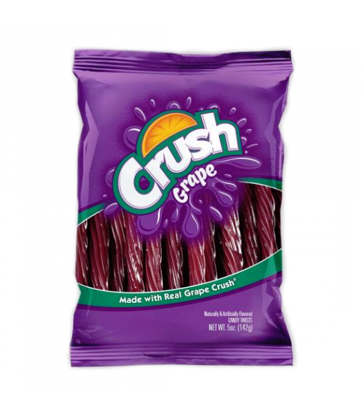 "Kenny's Grape Crush 5"" Juicy Twists 5oz (142g) Soft Candy Kenny's"