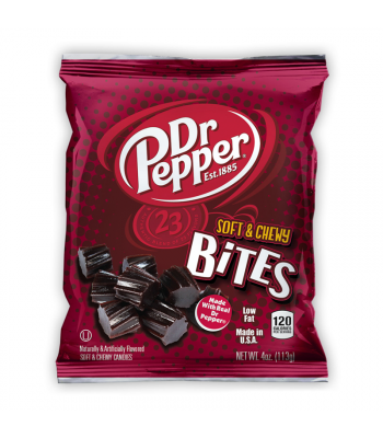 Kenny's Dr Pepper Soft & Chewy Bites 4oz (113g) Soft Candy Kenny's