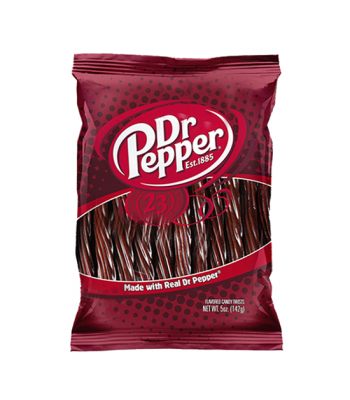 "Kenny's Dr Pepper 5"" Juicy Twists 5oz (142g) Soft Candy Kenny's"