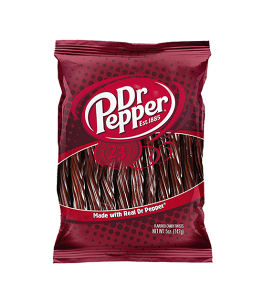 "Kenny's Dr Pepper 5"" Juicy Twists 5oz (142g) Sweets and Candy Kenny's"