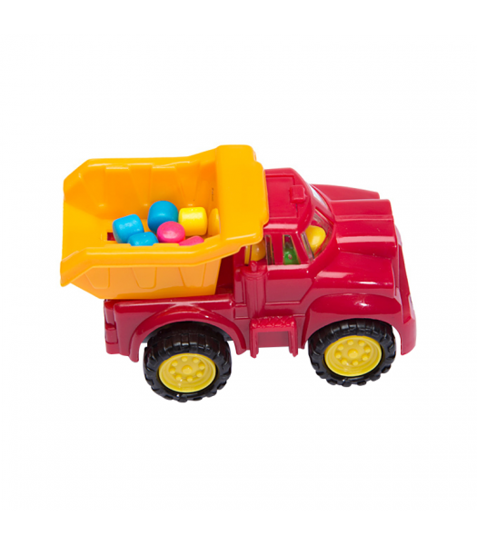 Kidsmania Cone Zone Construction Truck Candy Dispenser - 0.21oz (6g) Sweets and Candy Kidsmania