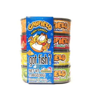 Kidsmania Garfield Got Fish Novelty Candy - 1.06oz (30g) Sweets and Candy Kidsmania