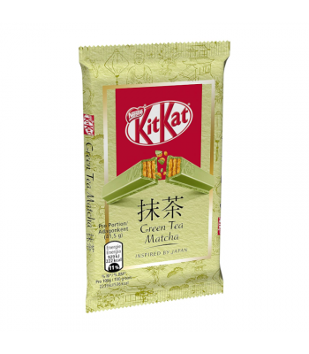 Kit Kat Green Tea Matcha - 41.5g (EU) Sweets and Candy Kit Kat