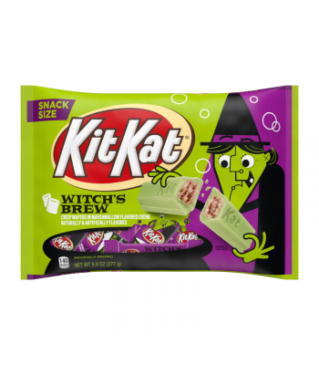 Kit Kat Halloween Witch's Brew - 9.8oz (277g) Sweets and Candy Kit Kat