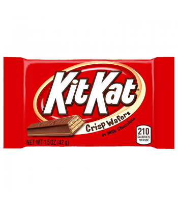 Kit Kat - Milk Chocolate - 1.5oz (42g) [U.S. Version] Chocolate, Bars & Treats Kit Kat