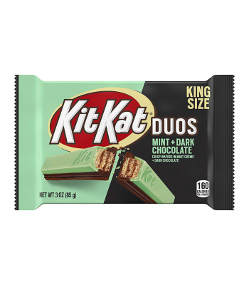 Kit Kat Duos Dark Chocolate Mint King Size - 3oz (85g)