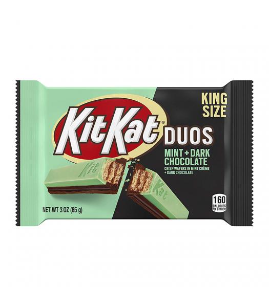 Kit Kat Duos Dark Chocolate Mint King Size - 3oz (85g)