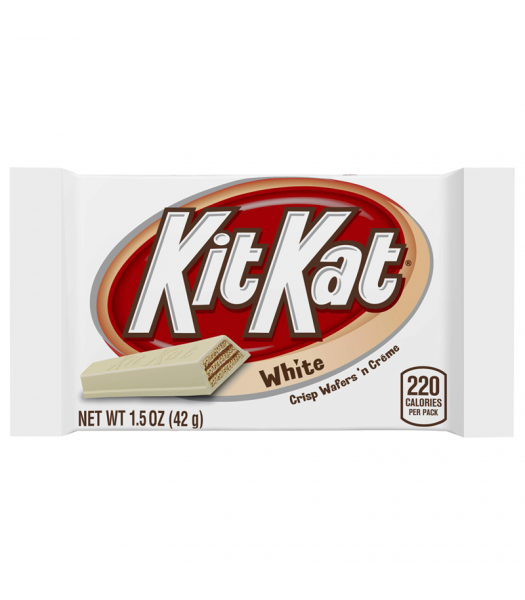 Kit Kat White Chocolate 1.5oz (42g) Chocolate, Bars & Treats Kit Kat