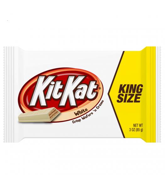 Kit Kat - White Chocolate - King Size 3oz (85g) Chocolate, Bars & Treats Kit Kat