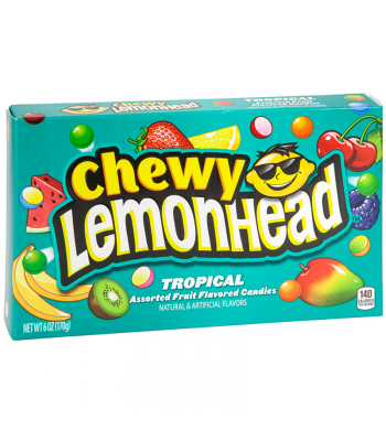 Chewy Lemonhead Tropical - 5oz (142g) Sweets and Candy Ferrara