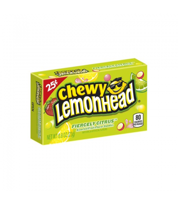 Chewy Lemonhead - Fiercely Citrus - 0.8oz (23g) Sweets and Candy Ferrara