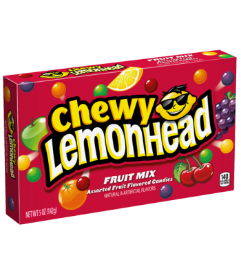 Chewy Lemonhead - Fruit Mix - 5oz (142g) Sweets and Candy Ferrara