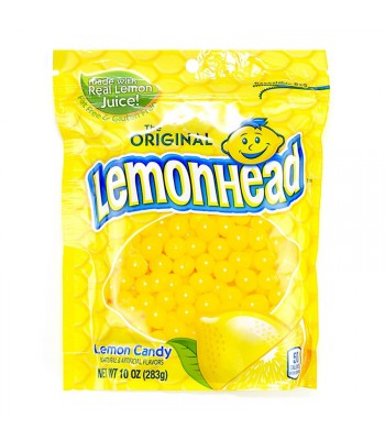 Lemonhead Stand Up Bag - 10oz (283g) Sweets and Candy Ferrara