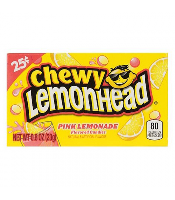 Clearance Special - Chewy Lemonhead - Pink Lemonade - 0.8oz (23g) **Best Before: 20 September 19** Clearance Zone