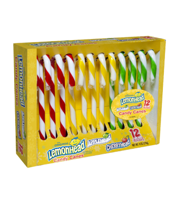 Lemonhead & Friends - Assorted Flavour Candy Canes - 6oz (170g) Sweets and Candy Ferrara