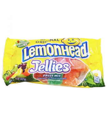 Lemonhead Jellies Fruit Mix 8oz (226g)