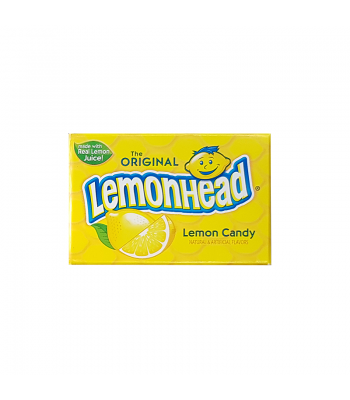 Original Lemonhead - Fun Size Box (10g) Soft Candy Ferrara