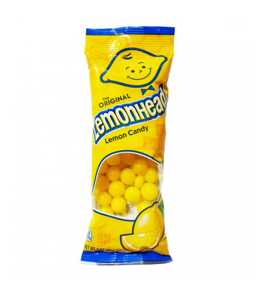 Lemonheads Flex Peg Bag - 3oz (85g) Soft Candy Ferrara