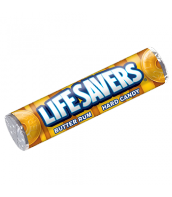 Lifesavers Butter Rum 1.14oz (32g)  Hard Candy Life Savers