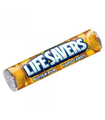 Lifesavers Butter Rum 1.14oz (32g)  Hard Candy Life Savers
