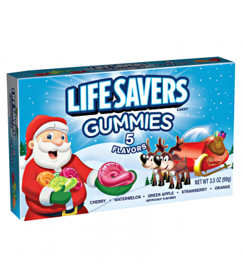 Life Savers Gummies 5 Flavours - 3.5oz (99g) [ Christmas 2017 ] Sweets and Candy Life Savers