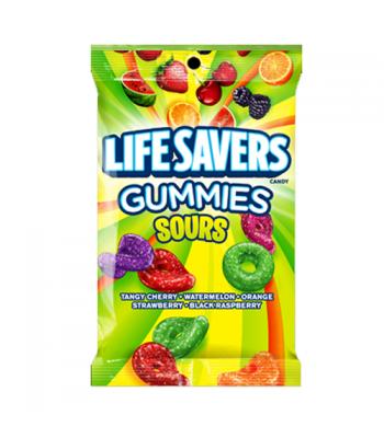 Lifesavers - Gummies Sours Peg Bag - 7oz (198g)