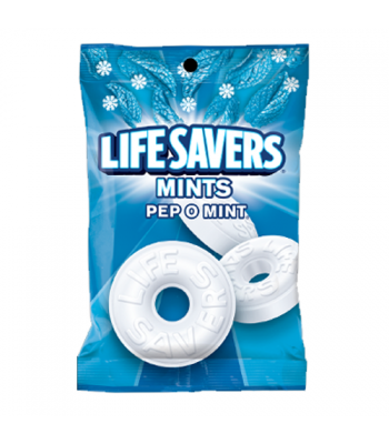 Lifesavers - Peppomint Mints Peg Bag - 6.25oz (177g)