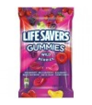 Clearance Special - Life Savers Gummies Wild Berry Peg Bag 7oz (198g) Best Before: 07 June 17 Clearance Zone