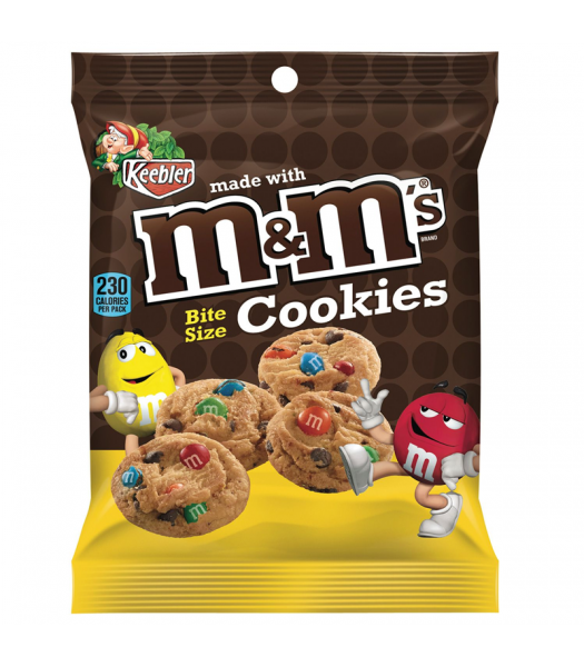 M&M's Bite Size Cookies 1.6oz (45g) Cookies and Cakes M&M's