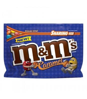 M&M's - Caramel - Sharing Pouch - 9.6oz (272.2g) Chocolate, Bars & Treats M&M's