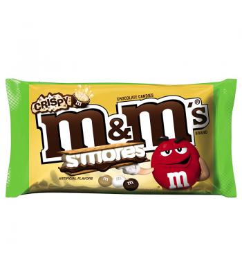 M&M's Crispy S'mores 8oz Bag (226.8g) Chocolate, Bars & Treats M&M's