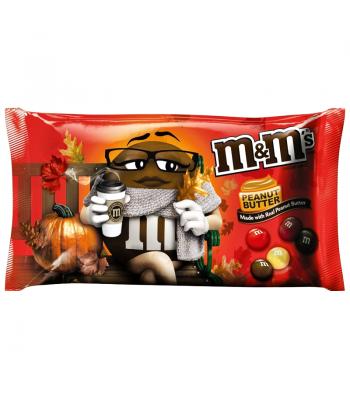 M&M's - Peanut Butter Harvest Blend - 10.2oz (289.2g) Chocolate, Bars & Treats M&M's