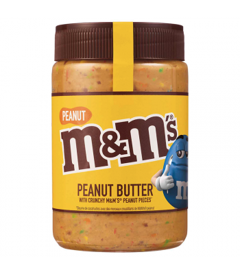 M&M's Peanut Butter Spread w/ Crunchy M&M's Peanut Pieces (EU) - 320g Peanut Butter & Spreads M&M's