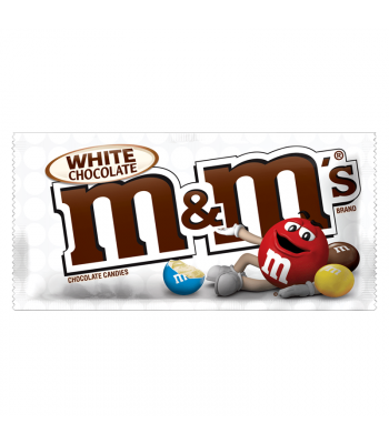 M&M's - White Chocolate - 1.5oz (42.5g) Chocolate, Bars & Treats M&M's