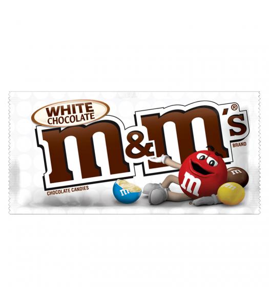 M&M's - White Chocolate - 1.5oz (42.5g) Chocolate, Bars & Treats M&M's