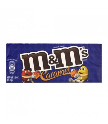M&M's - Caramel Theatre Box 3oz (85g) Sweets and Candy M&M's