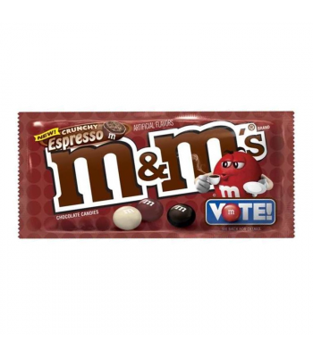 M&M's - Crunchy Espresso 1.35oz Sweets and Candy M&M's
