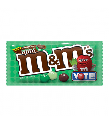 M&M's - Crunchy Mint 1.35oz Sweets and Candy M&M's