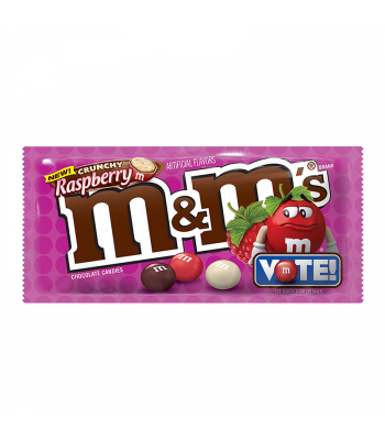 M&M's - Crunchy Raspberry 1.35oz Sweets and Candy M&M's