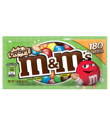 M&M's Crispy 1.35oz (38.3g) Chocolate, Bars & Treats M&M's