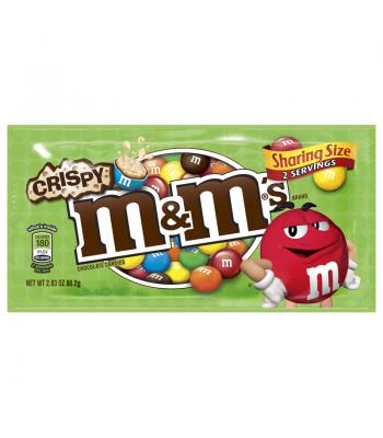 M&M's Crispy King Size 2.83oz (80g) Chocolate, Bars & Treats M&M's