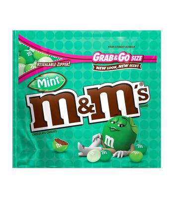 M&M's - Dark Mint - Grab & Go Size 5oz (142g) Chocolate, Bars & Treats M&M's