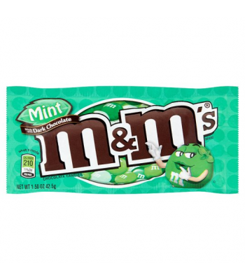 M&M's Dark Mint 1.5oz (42.5g) Chocolate, Bars & Treats M&M's