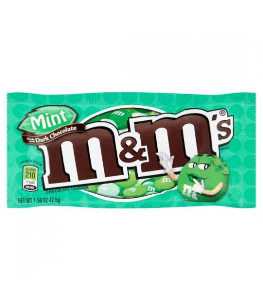 M&M's Dark Mint 1.5oz (42.5g) Chocolate, Bars & Treats M&M's