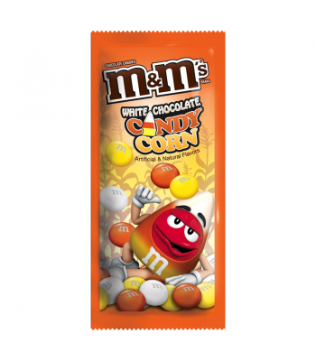 M&M's - White Chocolate Candy Corn - 1.5oz (42.5g) [ Halloween Limited Edition ] Chocolate, Bars & Treats M&M's